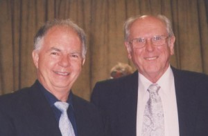 The Big Picture presenter John J McGowan (left), with producer Tony Ryan