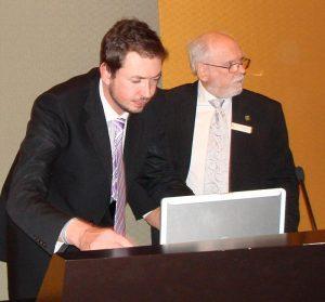 Chris Ryan - Website expert in action!