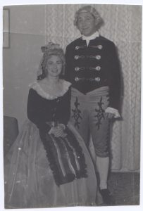 Cathy Weber and brother Bert Weber, Marriage of Figaro 1960